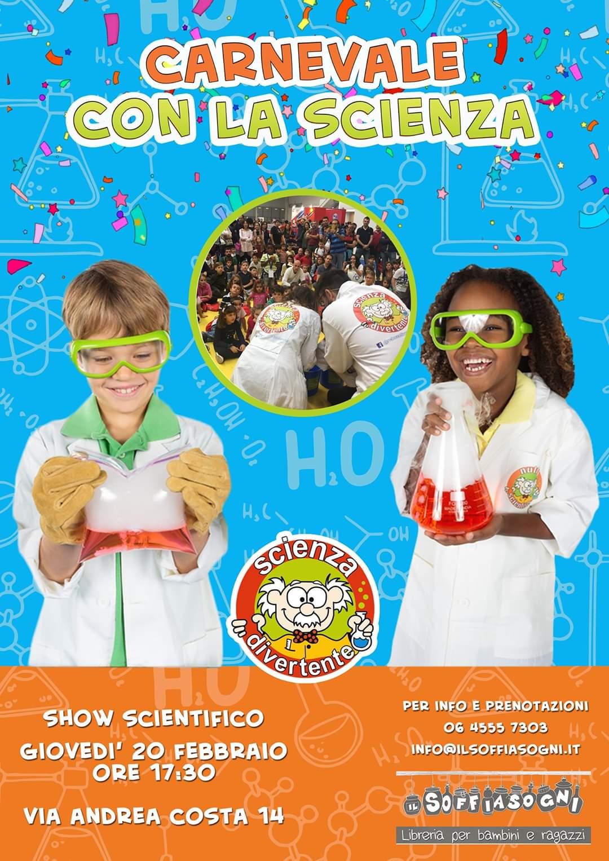 Carnevale con la scienza