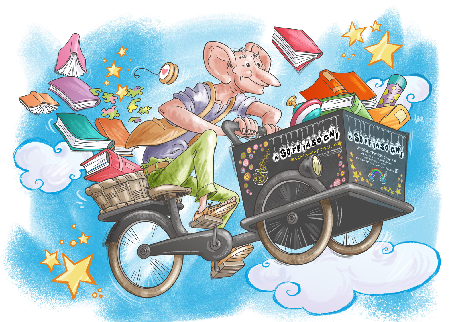 Il Soffisogni in Bicicletta